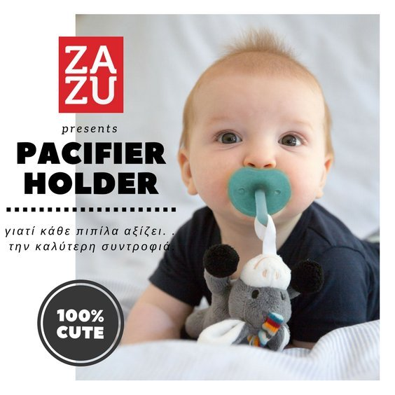 soothing pacifier holder