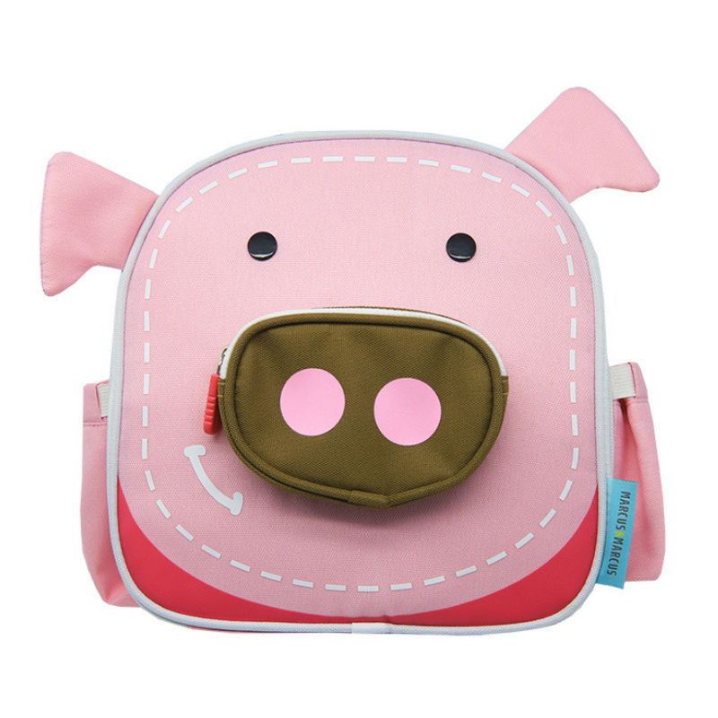 b17fbe16806b Bioin Baby Kids :: Insulated kid Lunch Bag Pig pink marcus and marcus