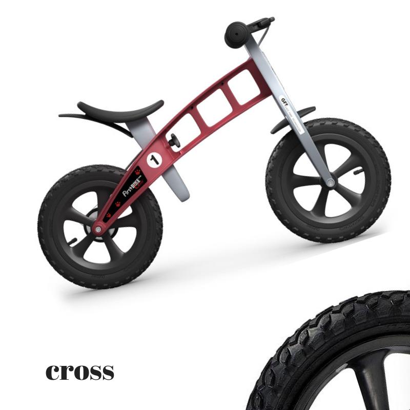 b4272406bd1 Bioin Baby Kids :: παιδικό Ποδήλατο Εκμάθησης Ισορροπίας Cross Κόκκινο με  Φρένο FirstBIKE