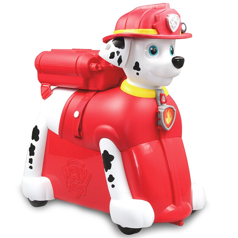 Bioin Baby Kids :: paw patrol Marshall suitcase riding toy